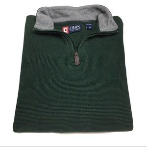 Chaps Sweaters - Men's Chaps Zipup Pullover